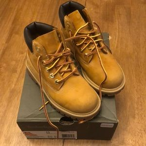 Boys Timberland Boots Size 11